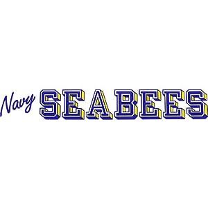Navy Seabee Clear Window Strip from Mitchell Proffitt