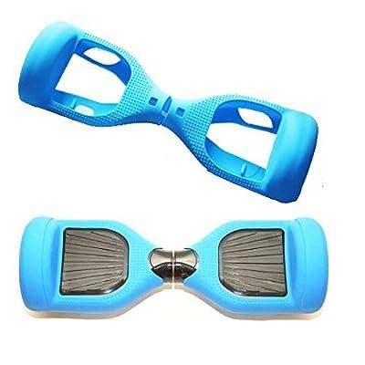 Aeneontrue Coque Hoverboard Housse de Protection en Silicone pour 6,5 pouces Hoverboard Accessoires Scooter Auto 2 Roues Cadeau Noël Anniversaire pour Homme