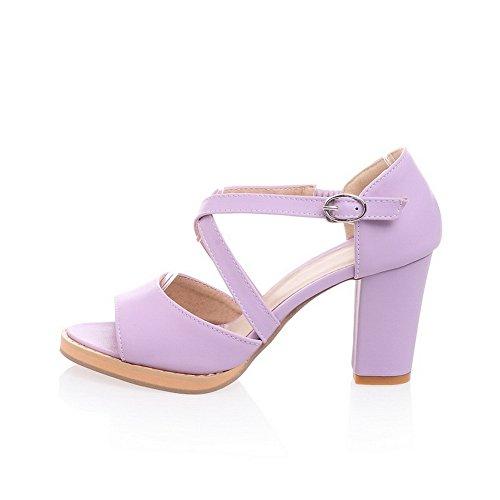 Adee , Damen Sandalen, Violett - violett - Größe: 38 EU