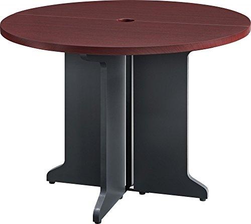 Ameriwood Home Pursuit Round Table Bundle, Cherry - Cherry Bundle