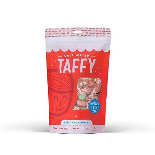 Taffy Shop Red Candy Apple Salt Water Taffy - 1/2 LB Bag