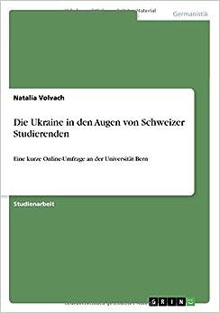 Book Die Ukraine in den Augen von Schweizer Studierenden