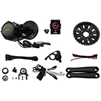 Bafang BBSHD BBS03B 48V 1000W 8fun Mid Drive Ebike Kit Bottom Bracket Width 68mm with Integrated Controller and LCD DPC 18 Color Display