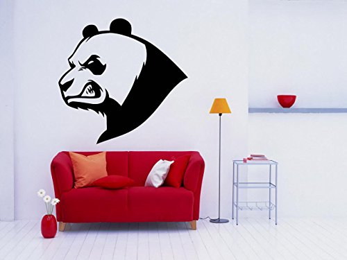 Panda, Bear, Animals, Bamboo,Wall decor,Wall Decal,Car sticker,Window Sticker,Vinyl sticker Handmade 1057