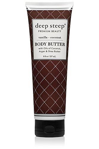 (Deep Steep Classic Body Butter, 8 fl oz, Vanilla Coconut)
