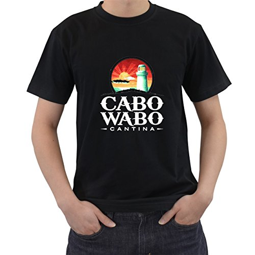 Cabo Wabo T2 T-Shirt Short Sleeve Black Size L