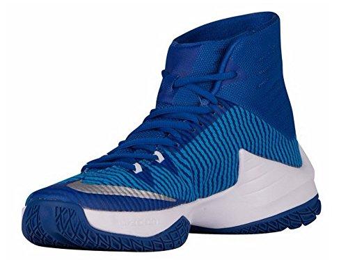 Nike Mens Zoom Clear Out Tb Basketball Shoes Blu Royal 844372 444 Taglia 12,5
