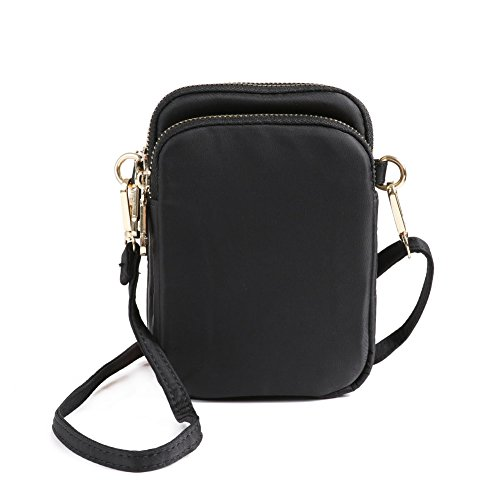 crossbody purse for women, HAIDEXI Nylon Small Crossbody Bags Cell Phone Purse Smartphone For Women