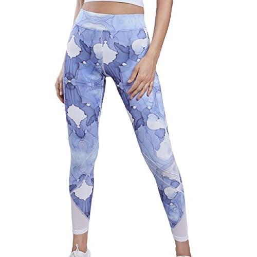 Lynx Sky-Dye Leggings. Yoga Tights For Women
