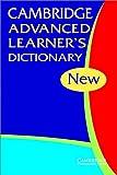 Cambridge Advanced Learner's Dictionary, Cambridge, 0521531055