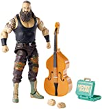 WWE GCL47 Elite Collection Braun Strowman Deluxe Action Figure with Realistic Facial Detailing, Iconic Ring Gear & Accessories, Multicoloured