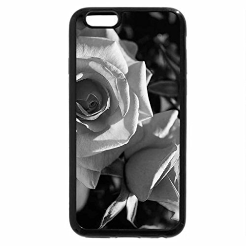 iPhone 6S Plus Case, iPhone 6 Plus Case (Black & White) - Rose brandy