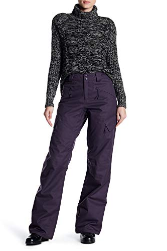 The North Face Women's Gatekeeper Insulated Waterproof Snow Pant Dark Eggplant Purple Small