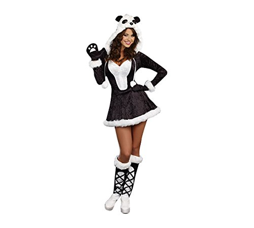 A Costume Panda (Dreamgirl Women's Panda Bear Baby Costume, Black,)