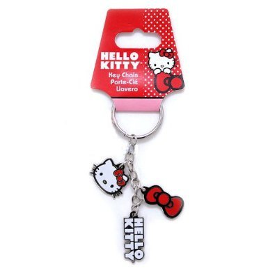 d0653134a Amazon.com: Hello Kitty Charms Design Enamel Key Chain Keychain: Automotive