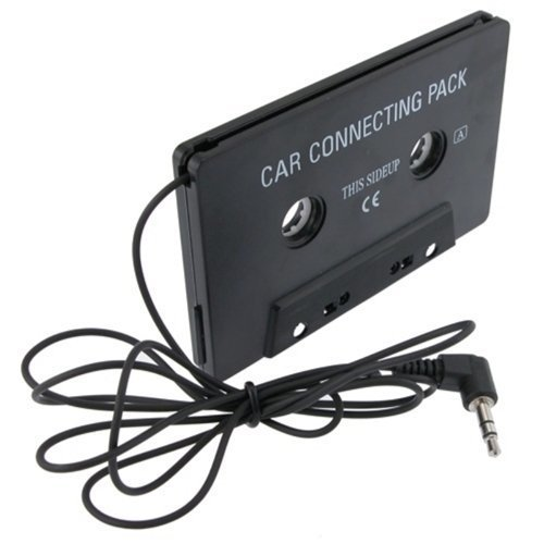 eForCity Car Audio Cassette Tape Adapter Compatible with iPod / Sony MP3 CD