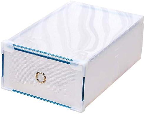 ZiXingA 6 cajones de plástico Caja de Almacenamiento para Zapatos ...