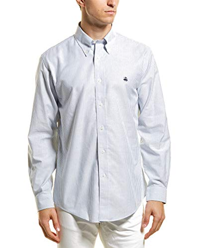 Brooks Brothers Mens 1818 Regent Fit The Original Woven Shirt, M, Blue from Brooks Brothers