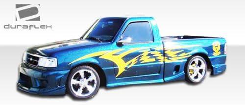 Brightt Duraflex ED-JZO-234 Drifter Side Skirts Rocker Panels 4 Piece Body Kit Compatible With Ranger 1993-1997