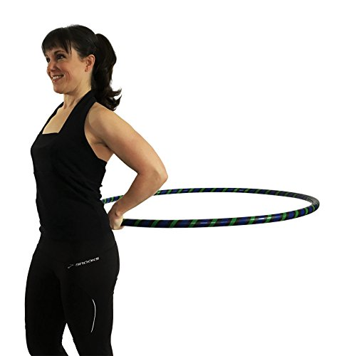 "Weighted Hula Hoop for Exercise and Fitness - 42"" Diameter Regular Adult"