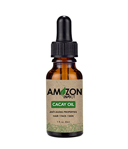 Cacay Oil Amazon IN OUT 30ml Organic Oil Rich in Vitamin A, E, F, Anti-Oxidants, Anti-Aging and Anti-Wrinkles.