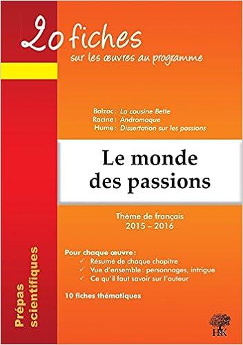 hume dissertation sur les passions résumé cpge