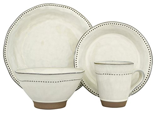 (Sango 16 Piece Cyprus Dinnerware Set,)