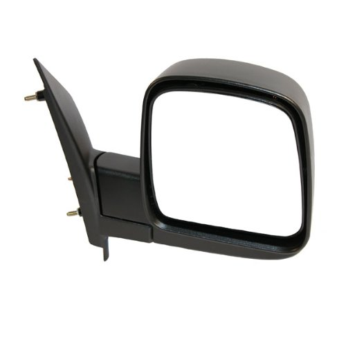 2003-2007 Chevrolet/Chevy Express & GMC Savana 1500, 2500, 3500 Van Manual Black Textured Folding Rear View Mirror Right Passenger Side (2003 03 2004 04 2005 05 2006 06 2007 (Chevy Chevrolet Express 2500 Mirror)
