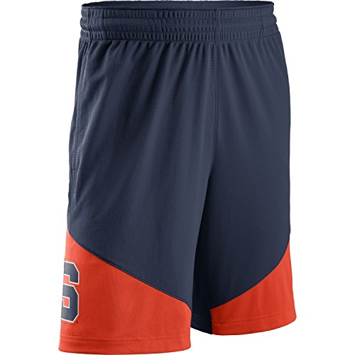 NIKE Men's Syracuse Orange Classic Shorts College Navy Size Large (Mens Shorts Syracuse)