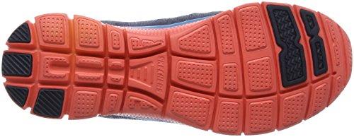 Skechers Flex AppealSpring Fever - Zapatillas de material sintético mujer Azul (NVCL)