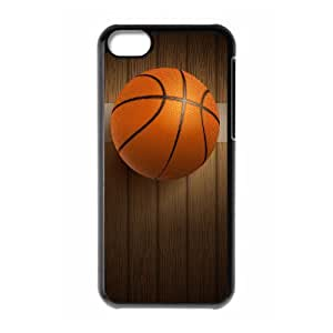 QSWHXN Print Basketball Pattern PC Hard Case for iPhone 5C