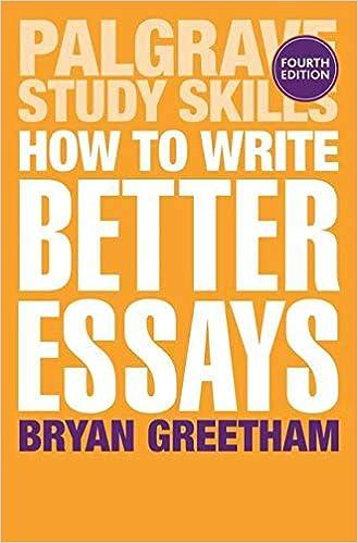Amazon how to write better essays palgrave study skills bryan