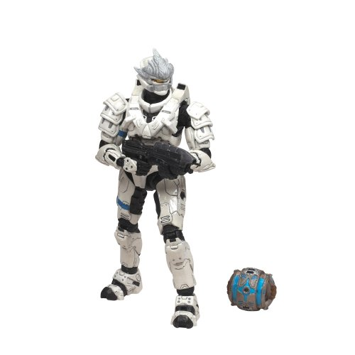 - McFarlane Toys Halo 2009 Wave 2 - Series 5 Equipment Edition Spartan Soldier Hayabusa Figure