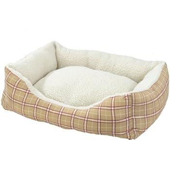 Amazon.com : AlphaPooch Cuddler Rectangular Bolster Dog