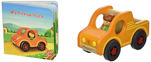 Hape Pickup Truck Wooden Figure product image