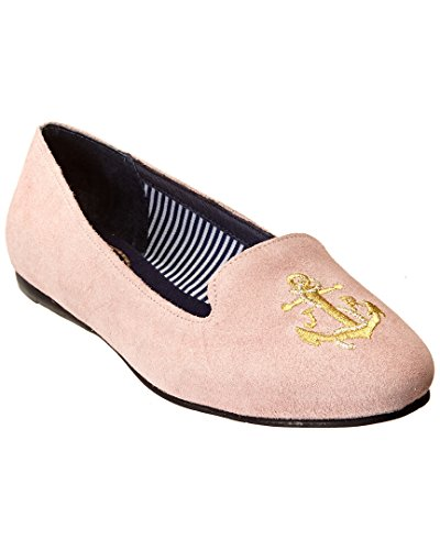 Jack Rogers Dames Reese Suede Loafers Blush