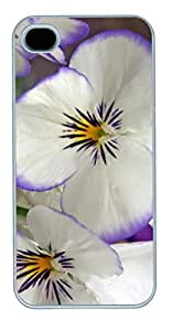iCustomonline Hawaiian Flower Case for iPhone 5 5S PC Material White by ruishername