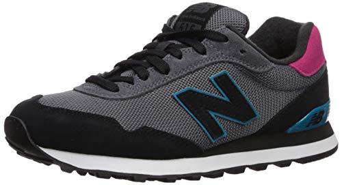 New Balance Women's 515v1 Sneaker, Light Aluminum/Black, 9 M US