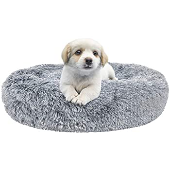 Amazon.com : Docatgo Pet Bed, Donut Cat Bed 23X23 inches ...