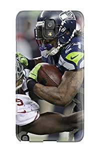 Hot Seattleeahawks First Grade Tpu Phone Case For Galaxy Note 3 Case Cover