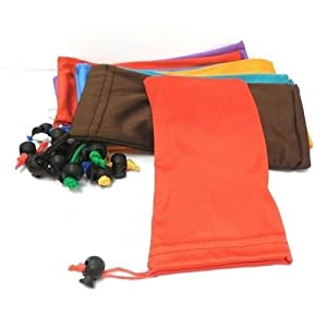 1 DZ/Lot Colorful Microfiber Pouch Bag Soft Cleaning Case Sunglasses Eyeglasses