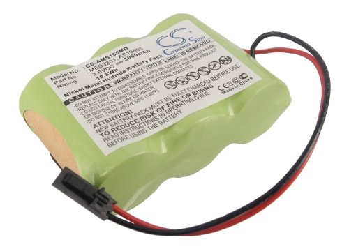ビントロンズ交換用バッテリーAlaris Medicalsystems MedSystem III、2860、2863、2865、2866、( 3000 mAh / 10.8 WH、 B013KP7AFO