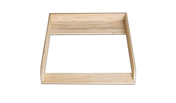 XXL madera natural. Cambiador parte superior para IKEA Hemnes ...