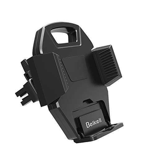 Beikell Air Vent Phone Mount, 360 Degree Air Vent Car Phone Holder Mount with One Button Release for iPhone X/8/7/7 Plus/6S/6s Plus/6/5S/5C, Samsung Galaxy S7 S6 Note 5/4, Huawei and More