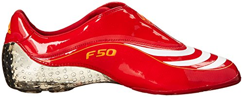 Chaussure De Football F50.8 Tunit Adidas Hommes Rouge / Blanc / Avertissement