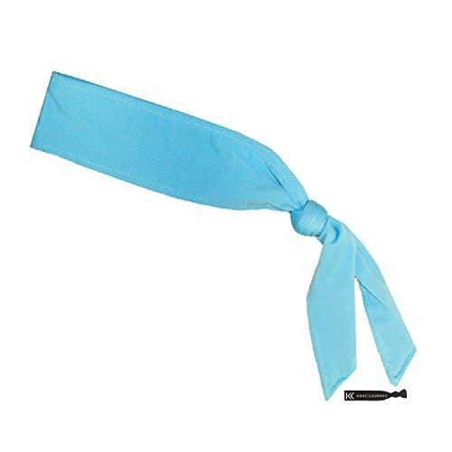 Headbands Tie on Headband for Women Men Running Athletic Hair Head Band Elastic Sports Sweat Basketball Sweatband Stetchy Yoga Workout Sweatbands Adjustable Non-Slip Moisture Wicking (Costumes In Head Soccer)