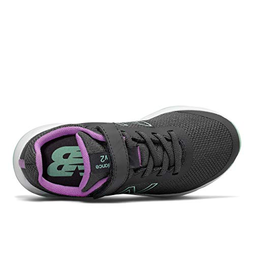 New Balance Kids' 455 V2 Alternative Closure Running Shoe