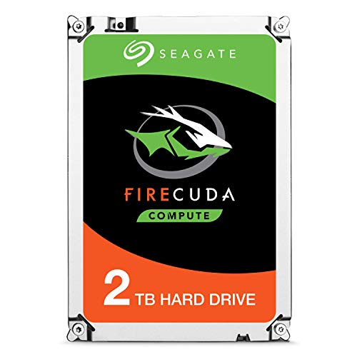 Seagate FireCuda 2TB Solid State Hybrid Drive Performance SSHD – 2.5 Inch SATA 6Gb/s Flash Accelerated 8GB Cache for Gaming PC Laptop (ST2000LX001)