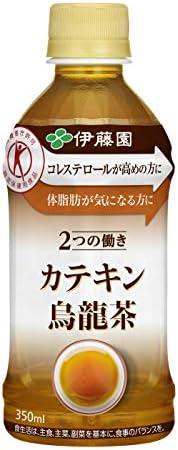 伊藤園 2つの働きカテキン烏龍茶 350ml×3ケース(合計72本)