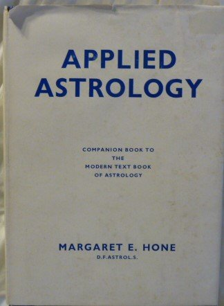 Applied Astrology Companion Book To The